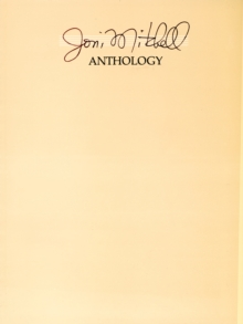 JONI MITCHELL ANTHOLOGY PVG, Paperback Book