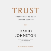 Trust : Twenty Ways to Build a Better Country, eAudiobook MP3 eaudioBook