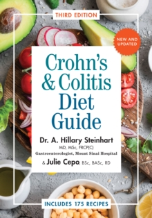 Crohn's & Colitis Diet Guide : Includes 175 Recipes, Paperback Book