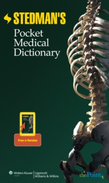 Stedman's Pocket Medical Dictionary, Paperback Book