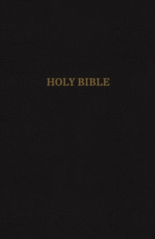 KJV, Reference Bible, Super Giant Print, Leather-Look, Black, Thumb Indexed, Red Letter Edition, Comfort Print : Holy Bible, King James Version, Paperback / softback Book