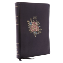 KJV, Deluxe Reference Bible, Super Giant Print, Imitation Leather, Black, Red Letter Edition, Comfort Print, Leather / fine binding Book