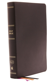 KJV, Minister's Bible, Genuine Leather, Black, Comfort Print, Leather / fine binding Book