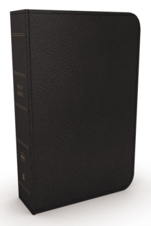 NKJV, Minister's Bible, Genuine Leather, Black, Comfort Print, Leather / fine binding Book