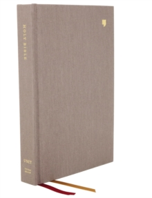 NET Bible, Thinline, Cloth over Board, Gray, Comfort Print : Holy Bible, Hardback Book