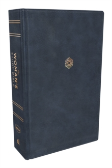 The NKJV, Woman's Study Bible, Leathersoft, Blue, Full-Color : Receiving God's Truth for Balance, Hope, and Transformation, Leather / fine binding Book