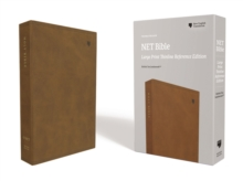 NET Bible, Thinline Reference, Large Print, Leathersoft, Brown, Comfort Print : Holy Bible, Leather / fine binding Book