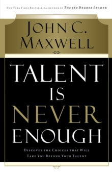 Talent is Never Enough, Paperback Book
