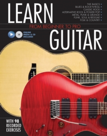 Learn Guitar : From Beginner to Pro, Hardback Book