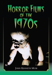 Horror Films of the 1970s, EPUB eBook