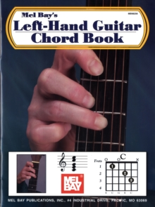 Left-Hand Guitar Chord Book, Paperback Book