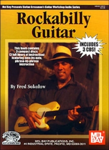 SOLOKOW ROCKABILLY GUITAR BK3CD GTR,  Book