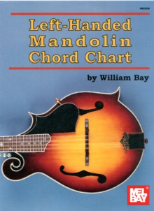 LEFTHANDED MANDOLIN CHORD CHART,  Book
