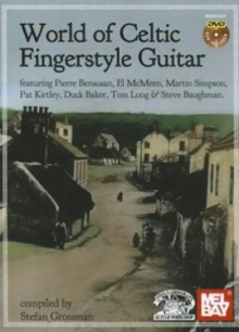 WORLD CELTIC FINGERSTYLE GTR BKDVD,  Book
