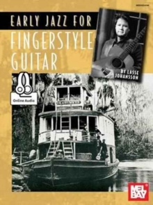 EARLY JAZZ FOR FINGERSTYLE GUITAR, Paperback Book