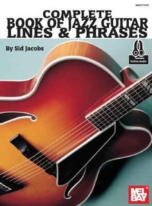 COMPLETE BOOK OF JAZZ GUITAR LINES & PHR, Paperback Book