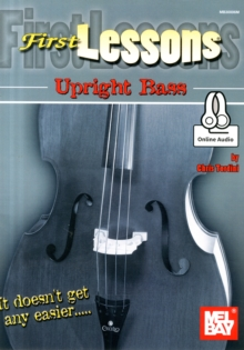 1ST LESSONS UPRIGHT BASS DB BK AUD, Paperback Book