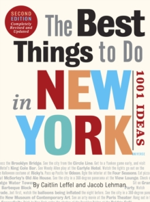 The Best Things to Do in New York, Paperback Book