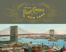 Vintage Postcards of New York, Hardback Book
