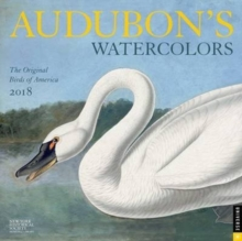 Audubon'S Watercolors 2018 Wall Calendar, Calendar Book