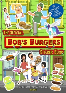 The Official Bob's Burgers Sticker Book, Paperback / softback Book