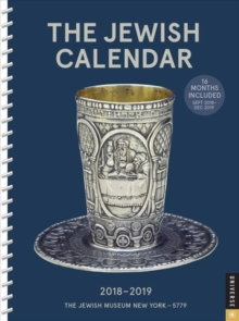 Jewish 2018-2019 Engagement Calendar, the, Diary Book