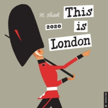 This is London 2020 Square Wall Calendar, Calendar Book