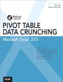 Excel 2013 Pivot Table Data Crunching, Paperback / softback Book