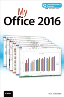My Office 2016 (includes Content Update Program), Paperback Book