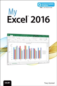 My Excel 2016 (includes Content Update Program), Paperback / softback Book