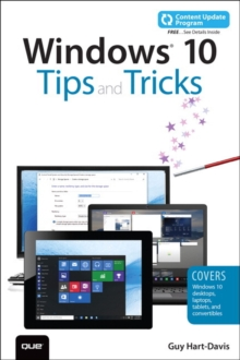 Windows 10 Tips and Tricks (Includes Content Update Program), Paperback Book