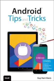 Android Tips and Tricks : Covers Android 5 and Android 6 Devices, Paperback Book