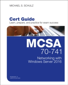 MCSA 70741 CERT GUIDE NETWORKING WITH WI,  Book