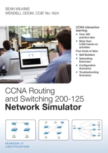 CCNA Routing and Switching 200-125 Network Simulator, DVD-ROM Book