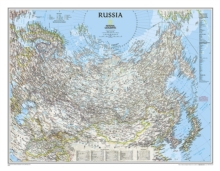 Russia Classic, Tubed : Wall Maps Countries & Regions, Sheet map, rolled Book