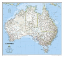 Australia Classic, Tubed : Wall Maps Continents, Sheet map Book