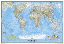 World Classic, Laminated : Wall Maps World, Sheet map, rolled Book