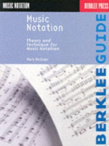 Music Notation, Paperback / softback Book