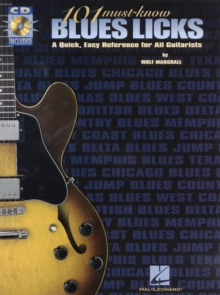 101 Must-Know Blues Licks, Paperback Book