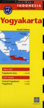 Yogyakarta Travel Map, Sheet map Book