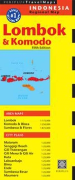Lombok & Komodo Travel Map Fifth Edition, Sheet map, folded Book
