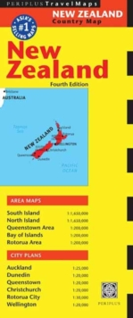 New Zealand Travel Map : Fourth Edition, Sheet map Book