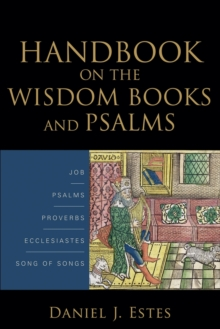 On the Wisdom Books and Psalms, Paperback Book
