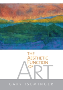 The Aesthetic Function of Art, Hardback Book