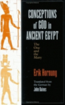 Conceptions of God in Ancient Egypt : The One and the Many, Paperback / softback Book