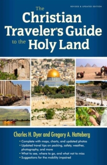 The Christian Traveler's Guide to the Holy Land, Paperback Book