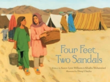 Four Feet, Two Sandals, Hardback Book