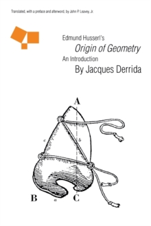 "Edmund Husserl's ""Origin of Geometry"" : An Introduction, Paperback / softback Book"
