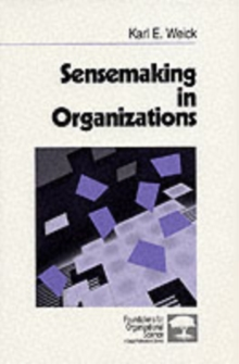 Sensemaking in Organizations, Paperback / softback Book