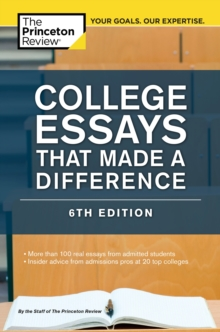 College Essays That Made a Difference, 6th Edition, EPUB eBook